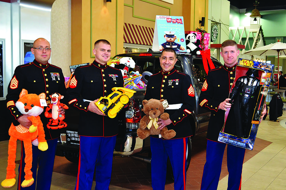 Marines With Toys
