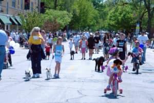 Spring Road Pet Parade