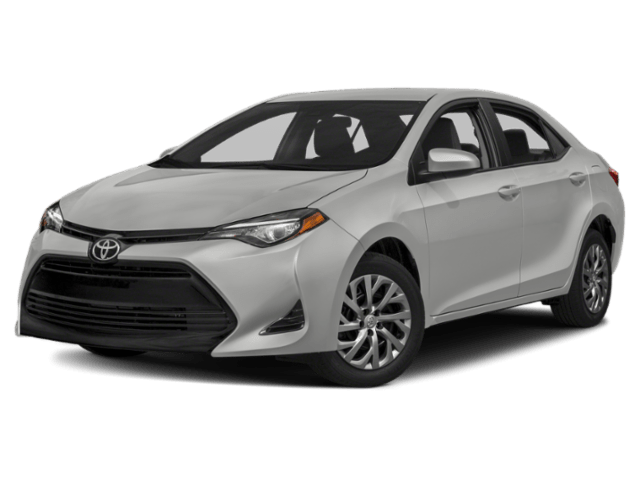 Toyota Corolla silver angled