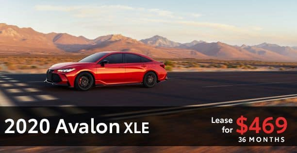 2020 Avalon Lease Special