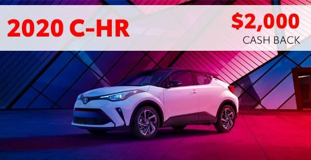 2020 C-HR Cash Back Special