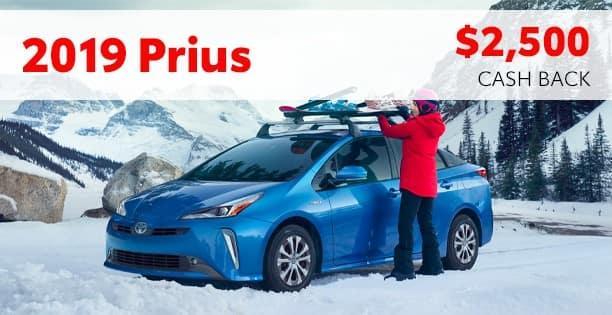 2019 Prius Customer Cash Special