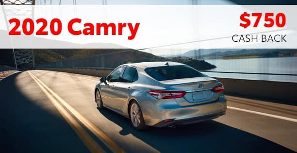 2020 Camry Customer Cash Special