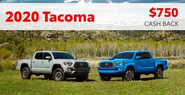 2020 Tacoma Customer Cash Special