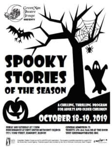 Spooky Stories and Songs of the Season