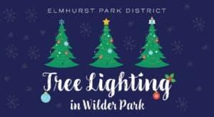 Tree Lighting in Wilder Park