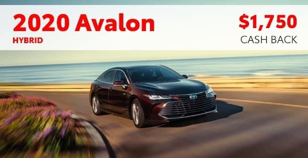 2020 Avalon Hybrid Customer Cash Special