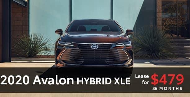 2020 Avalon Hybrid Lease Special