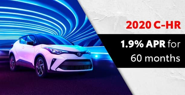 1.9% Available on C-HR