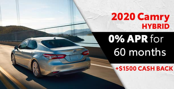 0% APR Available on Camry Hybrids