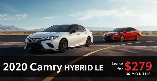 2020 Camry hybrid Lease Special