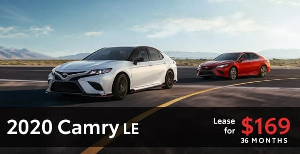 2020 Camry Lease Special