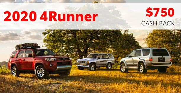 2020 4Runner Cash Back Special