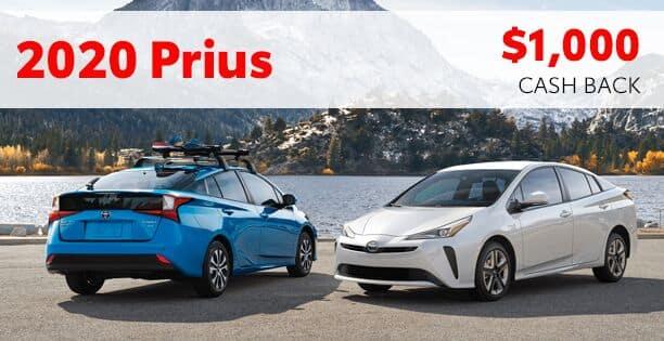 2020 Prius Customer Cash Special