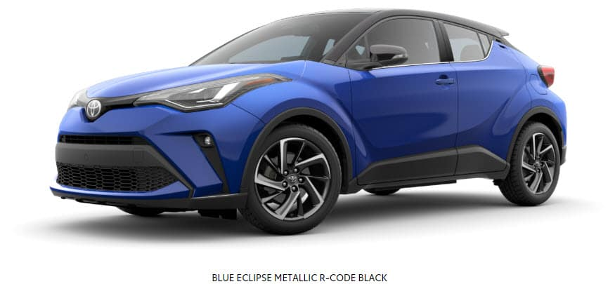 Blue Eclipse Metallic R-Code Black