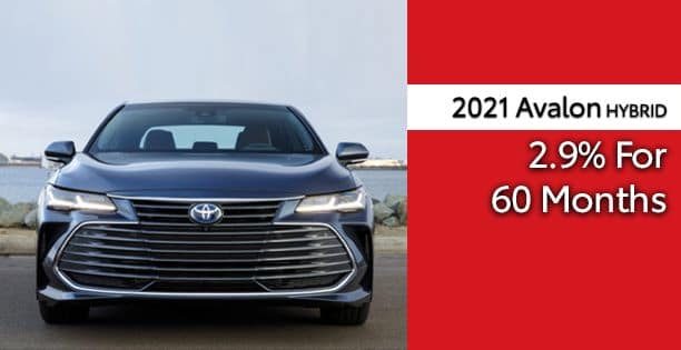 2021 Avalon Hybrid APR Special