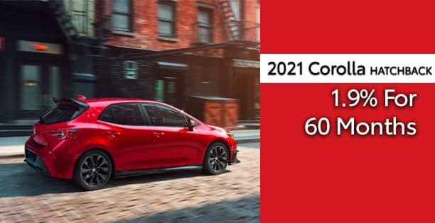 2021 Corolla Hatchback APR Special