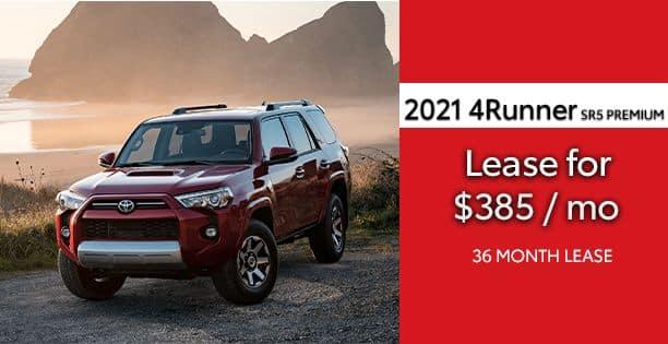 2021 4Runner SR5 Premium Lease Special