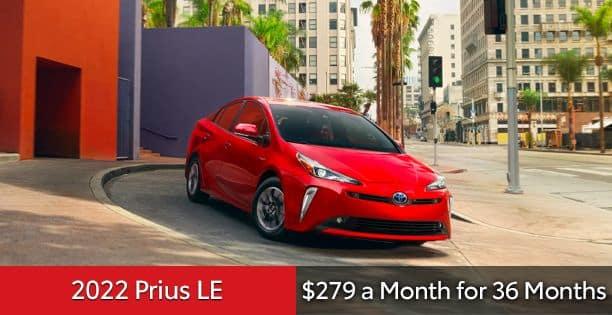 2022 Prius LE $279 Lease Special