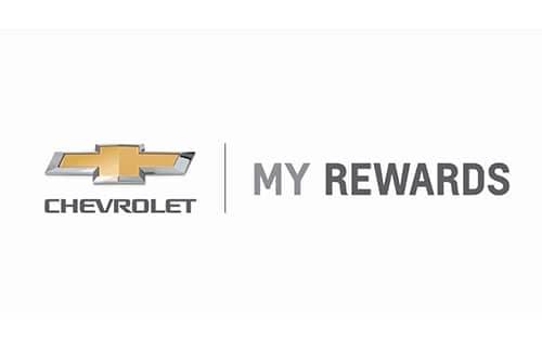 Chevrolet My Rewards Logo Special