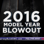 2016 Model Year Blowout