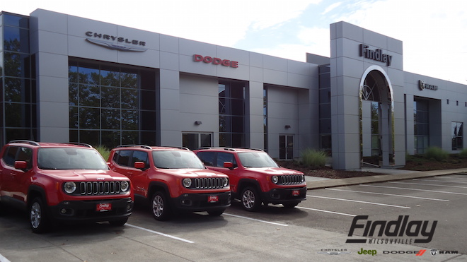 Shop with Findlay Wilsonville CJDR near Portland OR to find the best price on the car or truck you've been dreaming of.