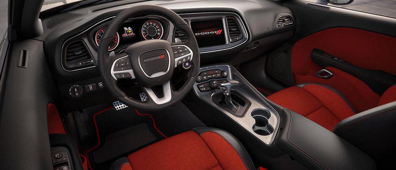 2015 Challenger Interior 2015 Dodge Challenger Srt