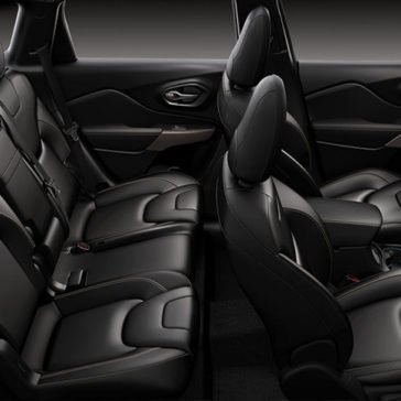 2017 Jeep Cherokee Interior Gallery 8