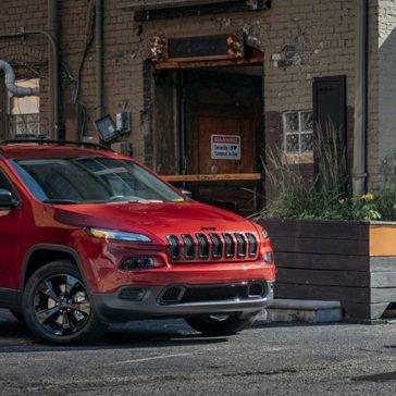 2017 Jeep Cherokee Sport Altitude Exterior Gallery 3