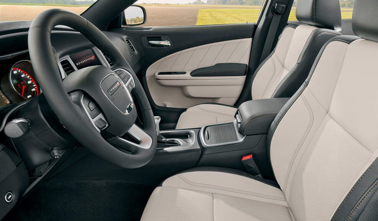 2017 Dodge Charger Leather Interior