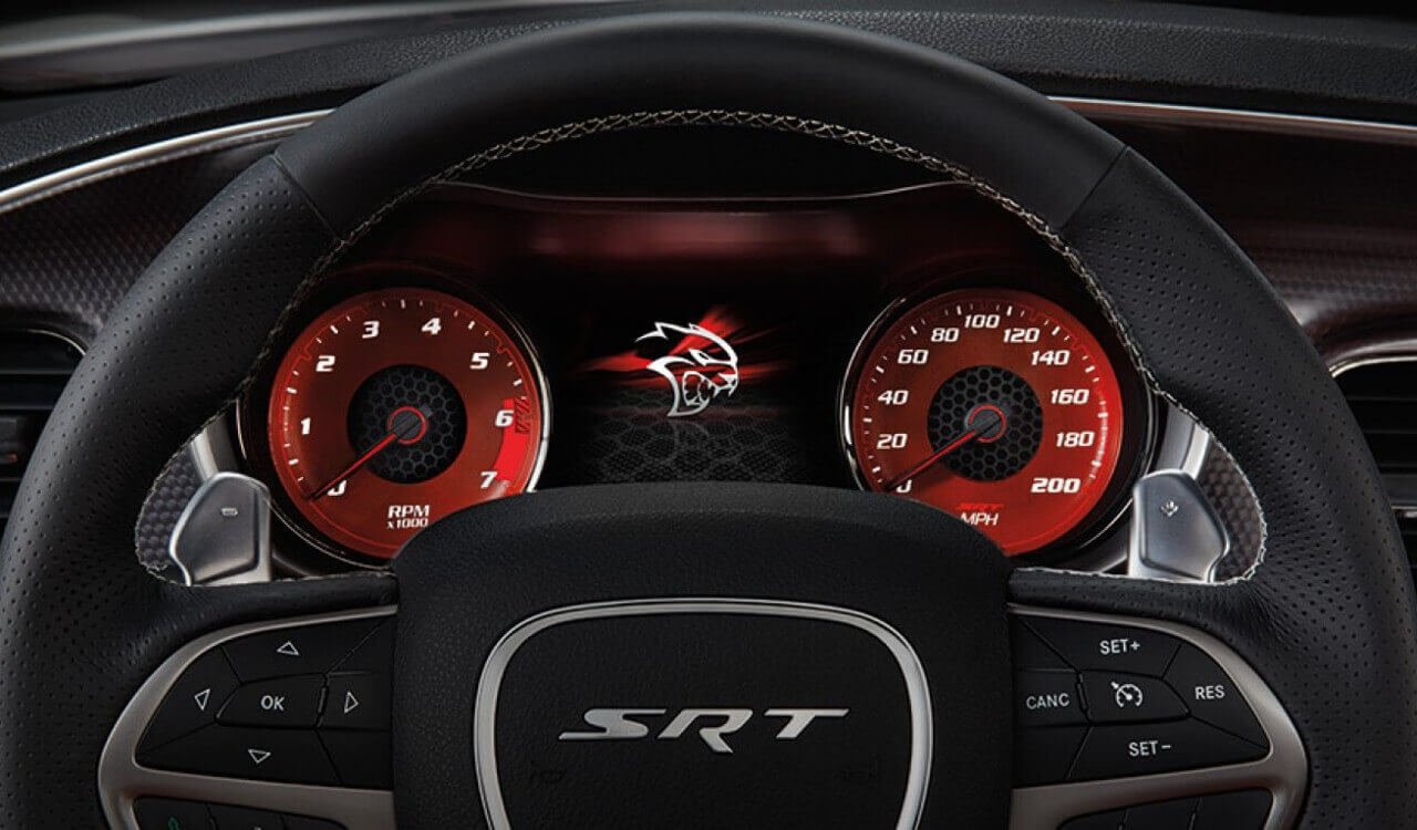 2017 Dodge Charger Speedometer