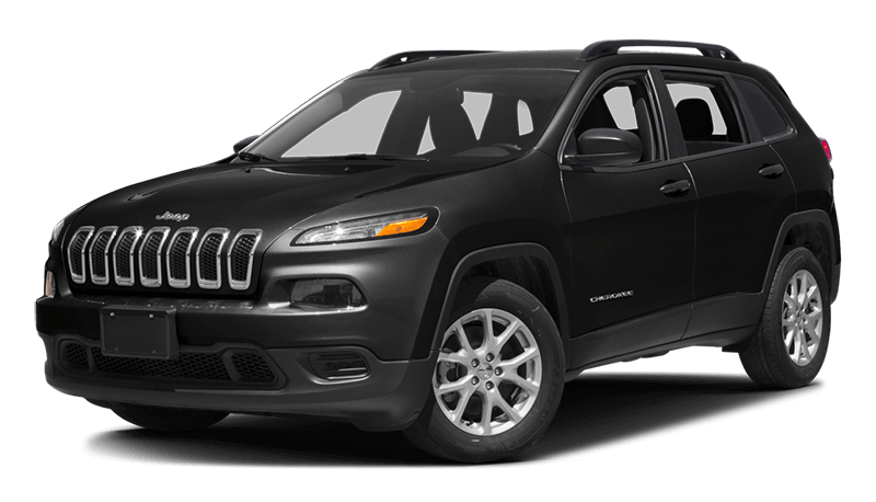 2017 Jeep Cherokee Black