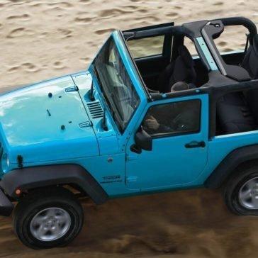 2017 Jeep Wrangler Gallery Capability Desert