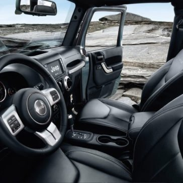 2017 Jeep Wrangler interior view