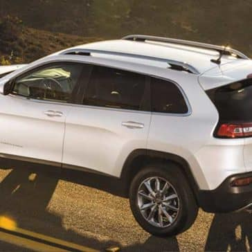 2018 Jeep Cherokee rear view
