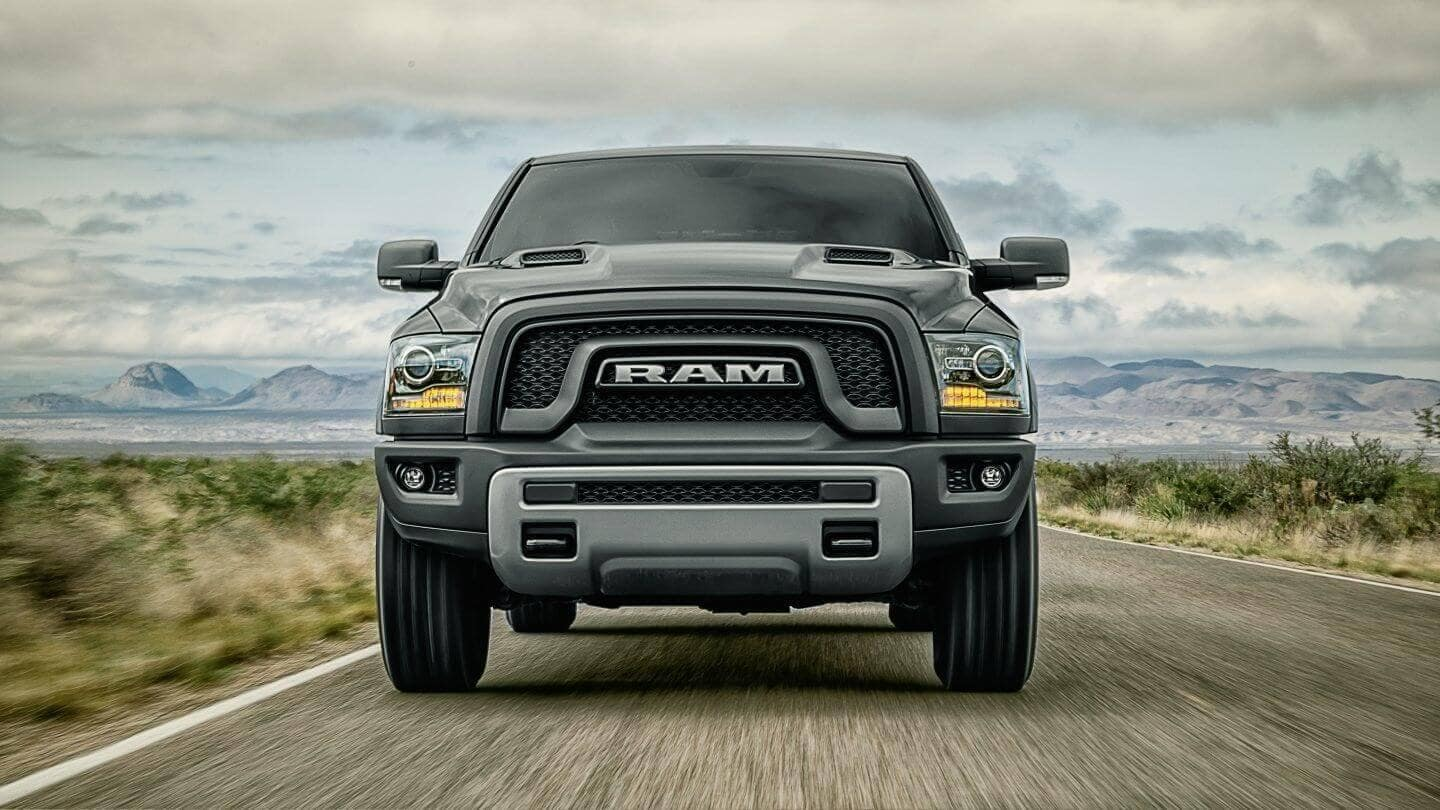 2018 Ram 1500 front view
