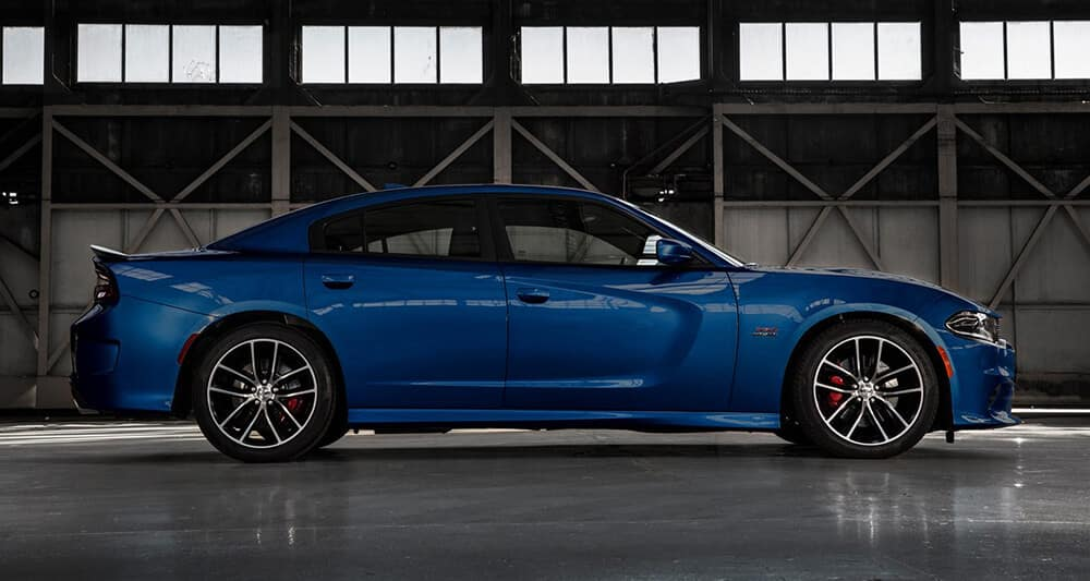 2018 Dodge Charger profile view