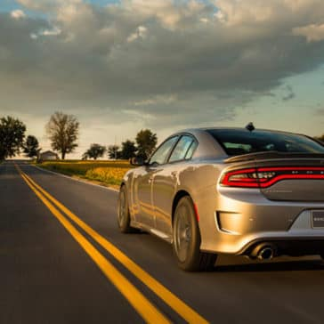 2018 Dodge Charger rear view