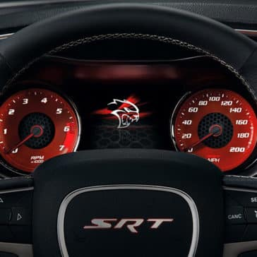 2018 Dodge Charger dashboard details