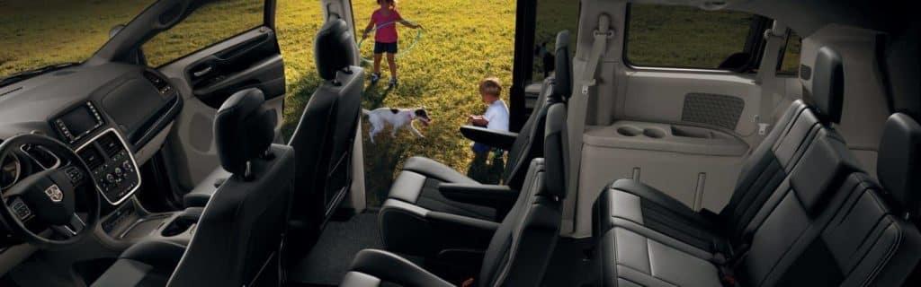 2018 Dodge Grand Caravan interior