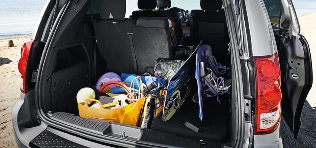 2018 Dodge Grand Caravan cargo space