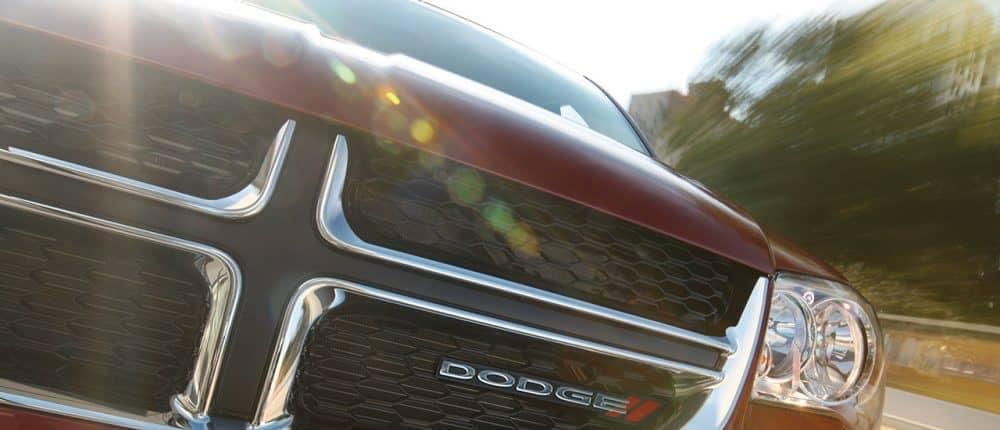 2018 Dodge Grand Caravan close up