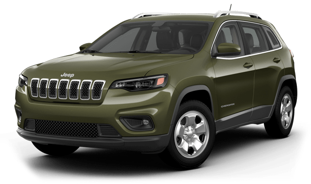 2019-CHEROKEE-LATITUDE-FWD-Olive-Green-Pearl-