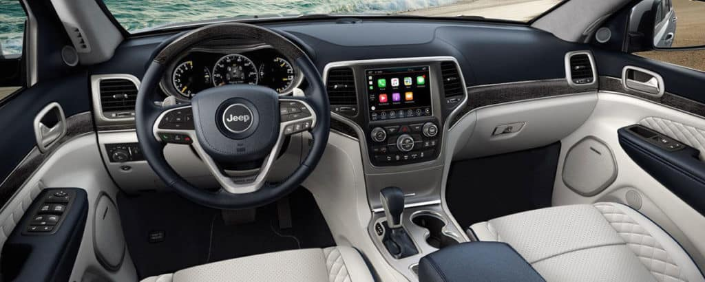 2018 Jeep Grand Cherokee technology features