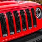 2018 Jeep Wrangler LED close-up