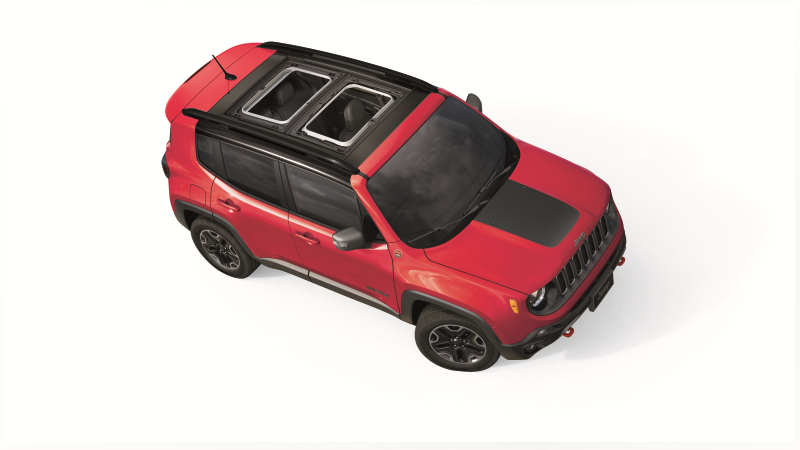 Jeep Renegade Colorado Red