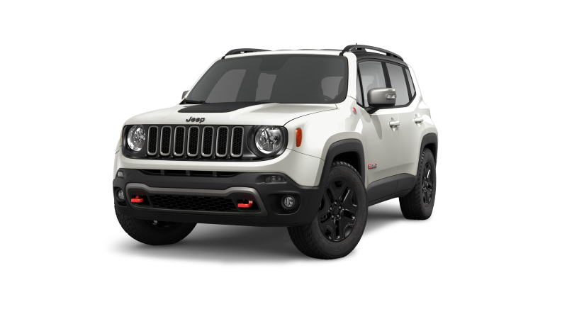 Jeep Renegade Glacier White