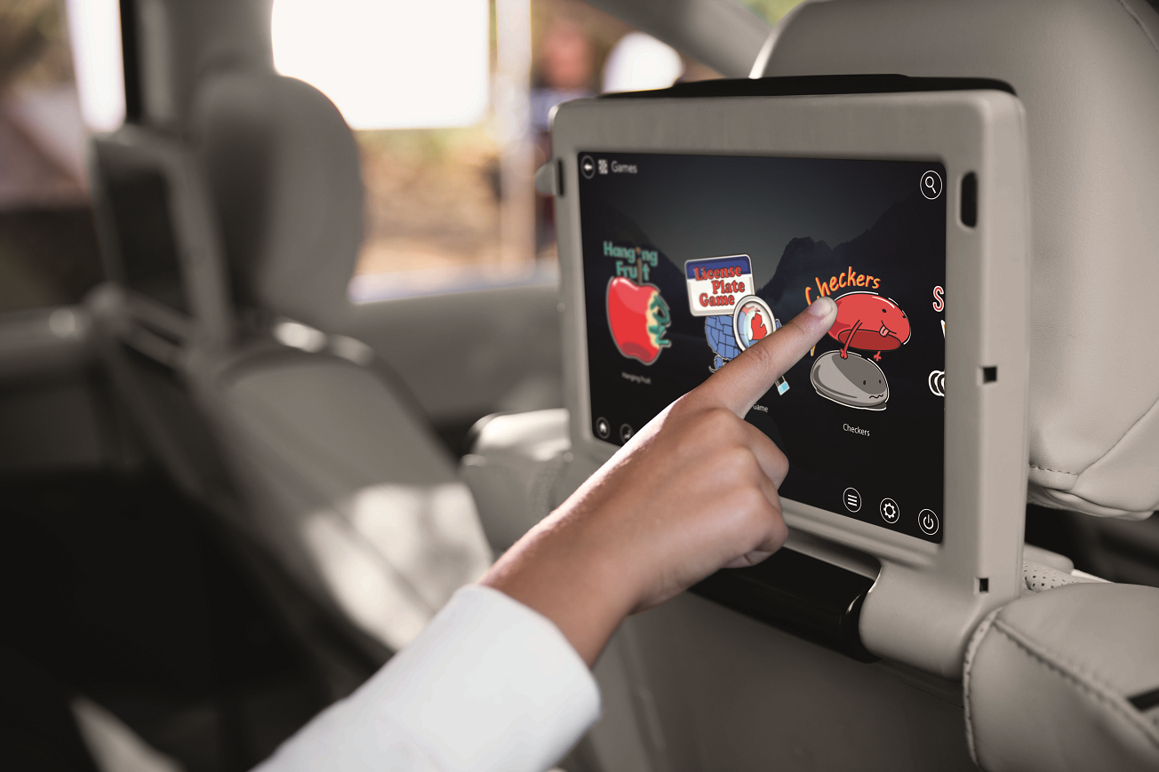 2019 Chrysler Pacifica - Uconnect Theater Screen