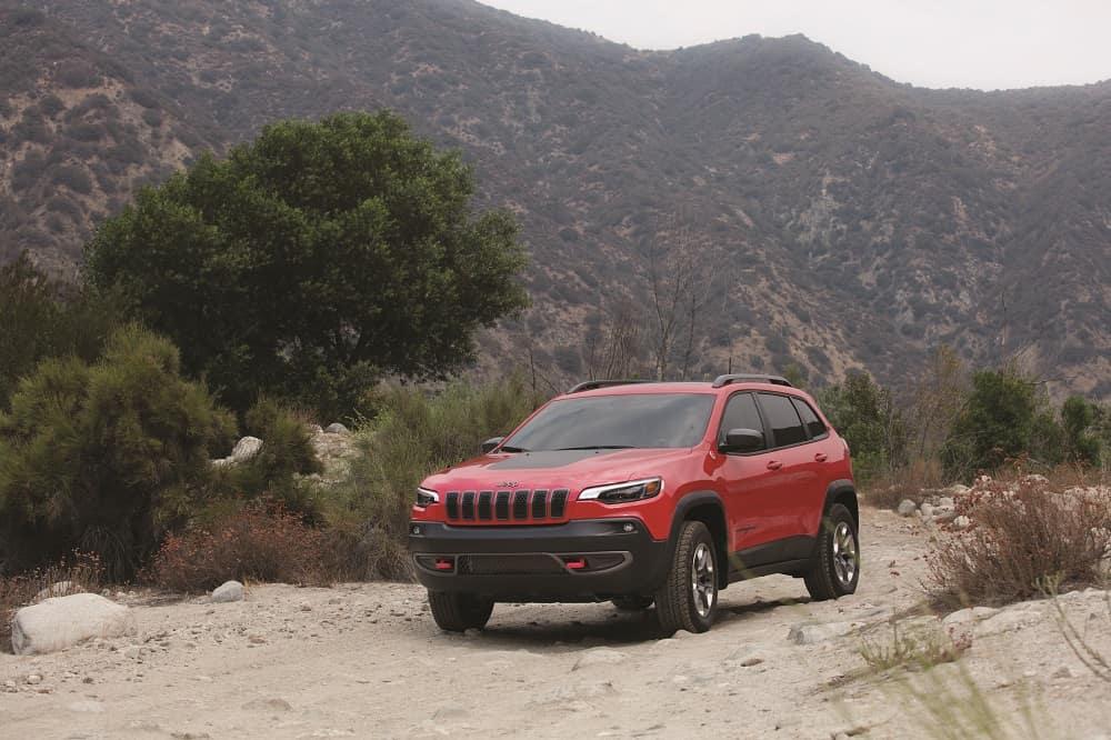 Jeep Cherokee on Tough Terrain