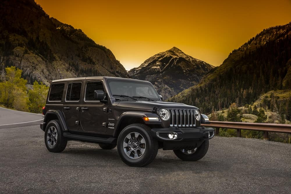 Jeep Wrangler Performance Specs